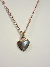 KIRKS FOLLY COPPER HEART  NECKLACE NWOT