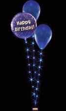 Azul balloonlites triple Juegos - 0.8 , 1 & 1.2m M