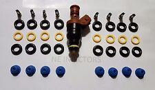 Mercedes V8 Fuel Injector Repair Service Kit O-Rings Filters Pintle Caps 4.2 5.0