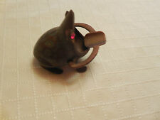 Brass Frog Cigarette Holder and Ashtray India