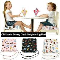 1PCS Kids High Chair Seat Pad Safe Booster Dining Cushion Adjustable 50-75cm Mat