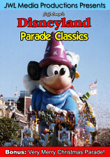 Disneyland Parade DVD Very Merry Christmas, Party Gras, World According Goofy