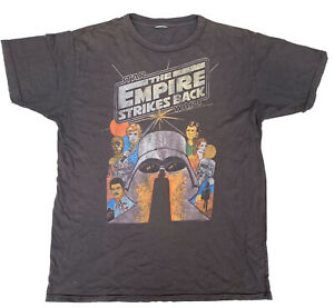 Star Wars The Empire Strikes Back T Shirt Brown Size Large Movie Tee