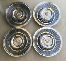 Set Of Four 1963,1964 Cadillac Hubcaps