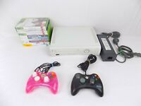 Xbox 360 White Console + 2x Controllers + 10x Very Popular Games + Power Cable