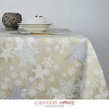 BRUGES Tovaglia Natale Natalizia - varie misure - Cieffepi Home Collections