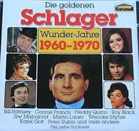 Die goldenen Schlagerwunderjahre 1960-1970 Bill Ramsey, Connie Francis, H.. [CD]