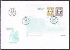Madeira 1980 blok 1 Eerste postzegels Madeira FDC cat waarde € 10