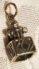 Sterling Silver 3-D Jack In The Box Charm