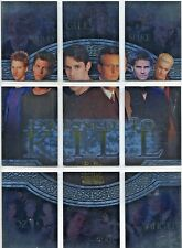 BUFFY  MEN OF SUNNYDALE  DRESSED TO KILL  DK1 TO DK9   9 CARD SET