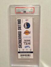 Dallas Mavericks Dirk Nowitzki 30,000 Point Full Ticket vs Lakers 3/7/17 PSA 10