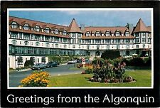 Algonquin Hotel St. Andrews N. B. Passamaquoddy Canada Postcard