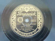 ELLA FITZGERALD, My Happiness/ Don't you think I ought to know, auf Brunswick