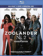 Zoolander 2 Blu-ray/DVD, 2016, 2-Disc Set, Includes Digital Copy With Slip Cover