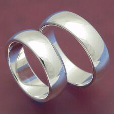 2 St. 925 Silber Eheringe Trauringe Freundschaftsringe Verlobungsringe