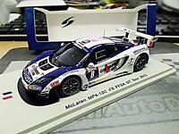 McLAREN MP4-12C FFSA GT Tour Auto 2013 Beltoise #8 limited NEW Spark Resin 1:43