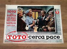 TOTò CERCA PACE fotobusta poster Isa Barzizza Ave Ninchi Enzo Turco Ferrari M40