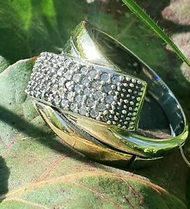Ring - Style 2 - Two Tone Sterling Silver & 9k Gold Ring