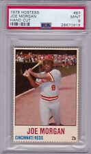 1978 Hostess #87 JOE MORGAN (HOF) PSA 9 MINT Cincinnati REDS - TOUGH!