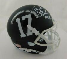 Tua Tagovailoa Signed Alabama Crimson Tide Mini Helmet Fanatics COA National Cha