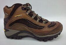 Merrell Womens Siren Waterproof Mid Leather Boots J16038 Brown Size 8