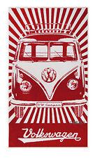 Beach Towel Camper Van Bus T1 Volkswagen 35x62'' VW Collection by BRISA BUBT01