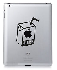 Apfel Saft Apple iPad Übertragungs Mac MacBook Sticker Vinyl Aufkleber Custom