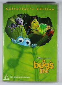 A Bugs Life DVD Collectors Edition FREE POST