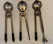 Set Of 3 Burdizzo 19 Bulls Cows Horses Castrator Emasculator Tool Italy As Is