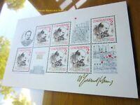 EBS Czechoslovakia 1985 - 115th Anniversary Birth of Lenin - Block 62 MNH**