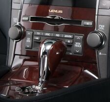 Cherry Walnut Burl Wood Shift Knob for Lexus LS460 LS600h ES350 GS450h IS350 RW