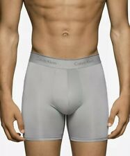 NEW Calvin Klein Microfiber Stretch Boxer Briefs - NB1290 - Gray - Medium