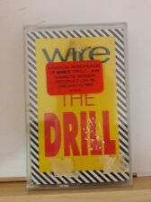 Wire - The Drill  (Apr-2000, Mute Records) New/sealed Cassette Tape