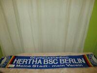 """Hertha BSC Berlin Fan Schal """"Olympiastadion HERTHA BSC Meine Stadt-mein Verein"""""""