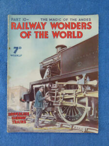 OLD RAILWAY WONDERS OF THE WORLD MAGAZINE. PART 10 - SUBWAY TRAINS