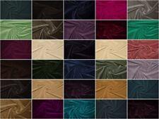 Baumwollsamt 100% Baumwolle Samt Meterware Bekleidung Polster Stoff Deko Stoffe