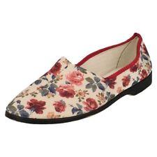 40 Pantofole da donna multicolore