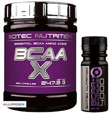 Scitec Nutrition BCAA X 330 Kapseln Aminosäuren Muskelaufbau + Bonus 8,40 €/100g