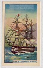1859 H.M.S. Marlborough Screw Ship Royal Navy 75+ Y/O Ad Card