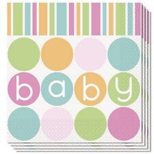 Confezione 16 Tovaglioli  Carta , Baby Shower Nascita  PS 09634