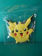 "Pokemon Pikachu PVC Key Chain Double Sided 2.25""in Tall x 2.5""in Wide"