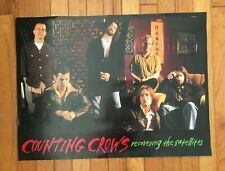 Counting Crows Recovering The Satellites original 2-sided promotional poster