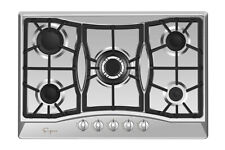 "Empava 30"" Gas Cooktop 5 Burners NG LPG Convertible Stove Stainless Steel #GC0A5"