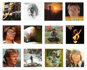 MINIATURE 1/12th Non Playable - LP. RECORD ALBUMS - JOHN DENVER - VARIOUS TITLES