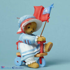 Enesco Cherished Teddies Dandy Bear 4th of July Figurine