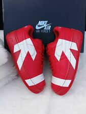 size 40 38119 a741b 8 Women s W Nike Air Force 1 Upstep arrows Uptown 898421-601 Red white  casual