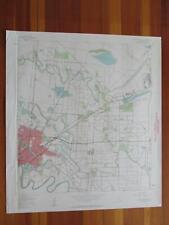 East Brownsville Texas 1961 Original Vintage USGS Topo Map