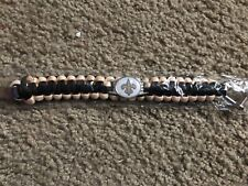 New Orleans Saints paracord bracelet—NIP