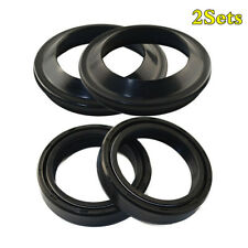 Universal 41x54x11 Motorcycle Front Fork Damper Shock Absorber Dust&Oil Seal Kit
