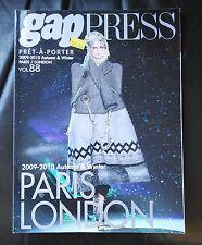 GAP PRESS MAGAZINE 2009-2010 autumn and winter volume 88 Pret-A-Porter